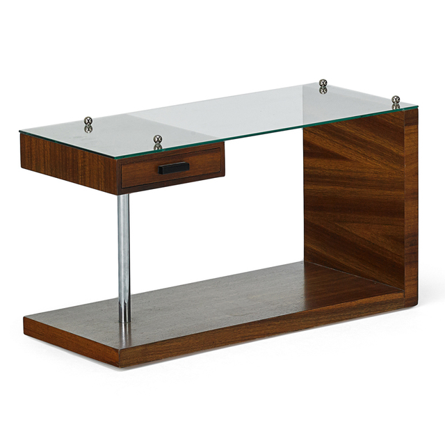 Gilbert Rohde, 'Side Table With Drawer, Zeeland, MI', 1930s, Rago/Wright