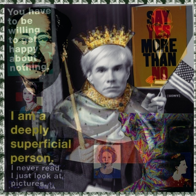 , 'King Warhol,' 2014, Madelyn Jordon Fine Art