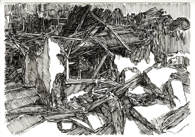 , 'Composition 10,' 2016, Galerija VARTAI