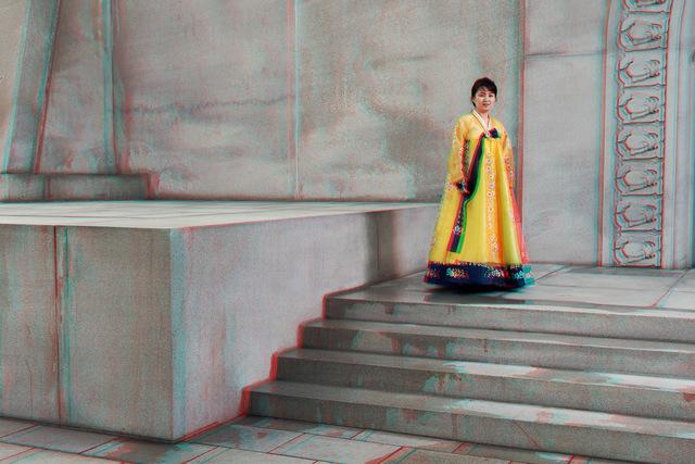 , '  #28. PEK CHANG SIM, 29, Cashier, Juche Tower (Outside),' 2014, Pékin Fine Arts