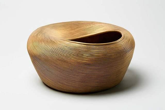 Satyendra Pakhalé, ''B.M. Kuda'', 2018, Design/Decorative Art, Bronze with sandblasted surface, ammann//gallery