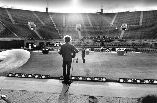, 'Bob Dylan Sound Check, Forest Hills Stadium, NYC,' 1965, TASCHEN