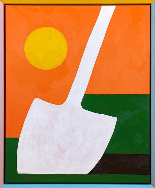 , 'Shovel in Grass,' 2018, PUBLIC Gallery