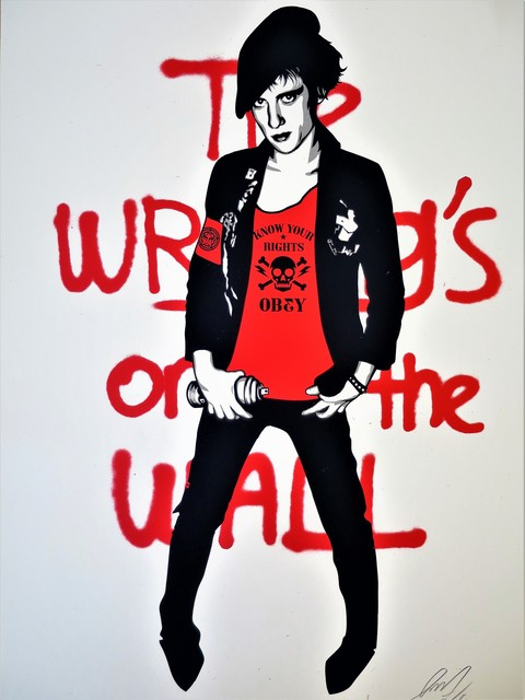 Shepard Fairey (OBEY), 'Writing on the Wall', 2010, AYNAC Gallery