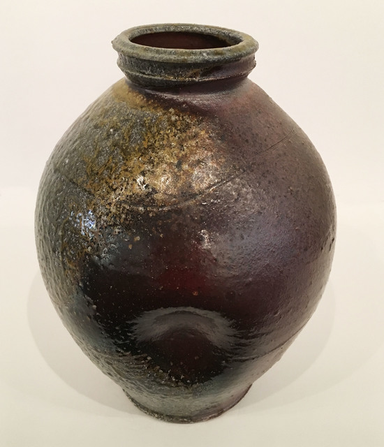 , 'Wood Fired, Stoneware Vase,' 2014-2017, BoxHeart