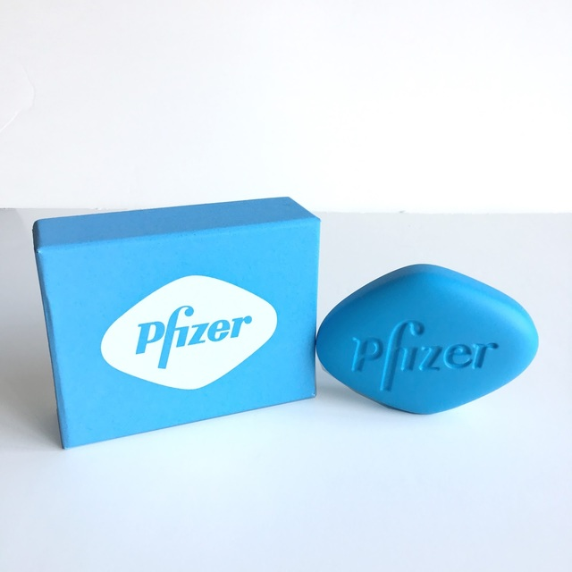 Damien Hirst, 'Damien Hirst, Pfizer VGR 100 mg (Blue)', 2014, Oliver Cole Gallery