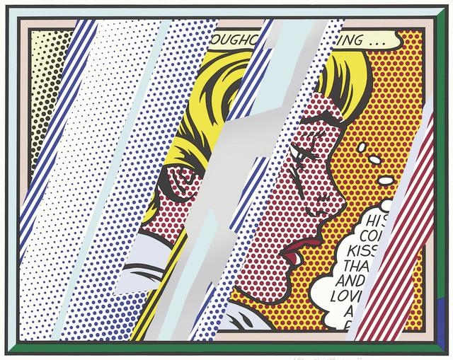 Roy Lichtenstein, 'Reflection on Girl, from Reflections', 1990, Christie's