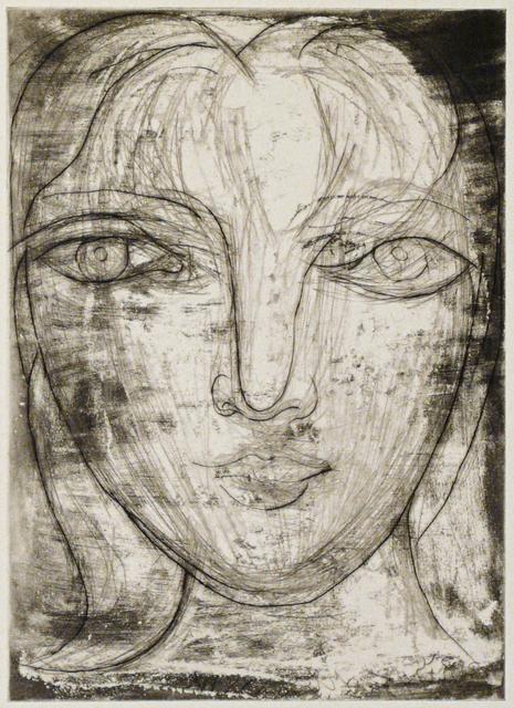 Pablo Picasso, 'Portrait de Marie-Thérèse de Face (B0276 )', 1934, John Szoke