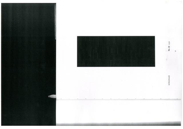 , 'Ad Reinhardt Last Paintings p.41,' 2014, Cynthia Corbett Gallery