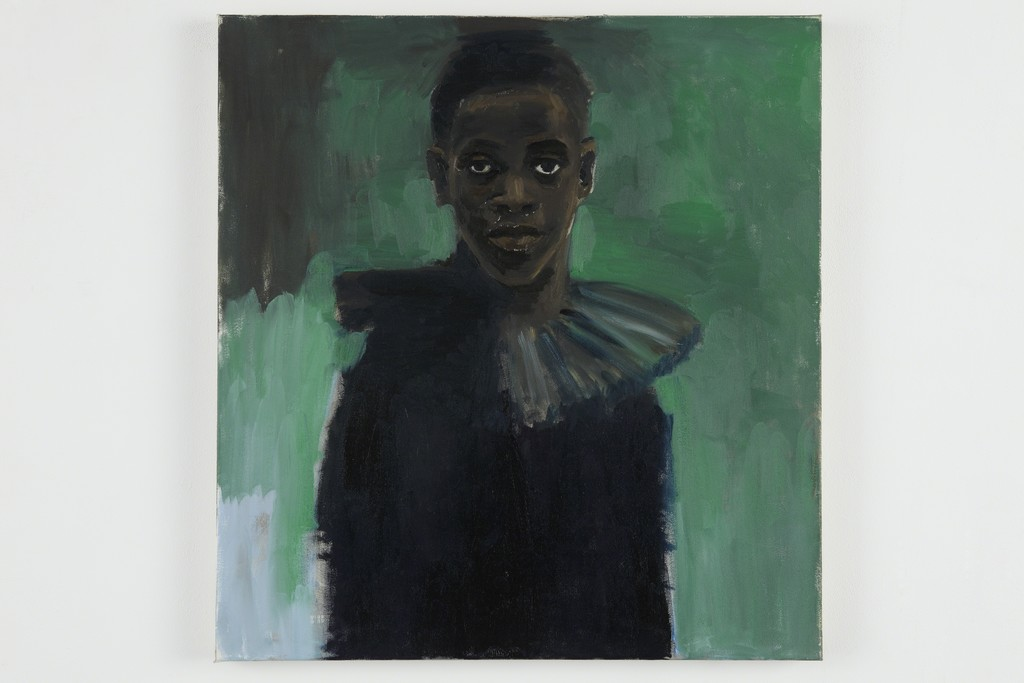 "Lynette Yiadom-Boakye, ""A Passion Like No Other"" (2012). Serpentine Gallery. Courtesy of Lonti Ebers."