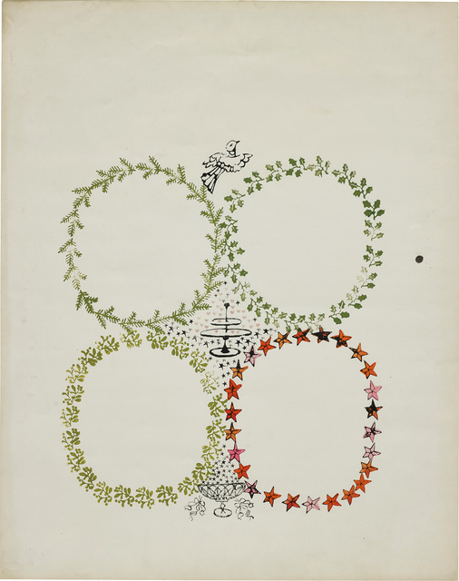 Andy Warhol, 'Christmas Invitation Design', circa 1956, Phillips