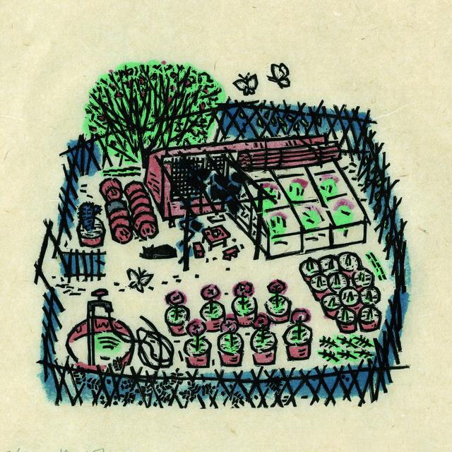 , 'Floral Garden 花圃,' 1983, Ink Studio