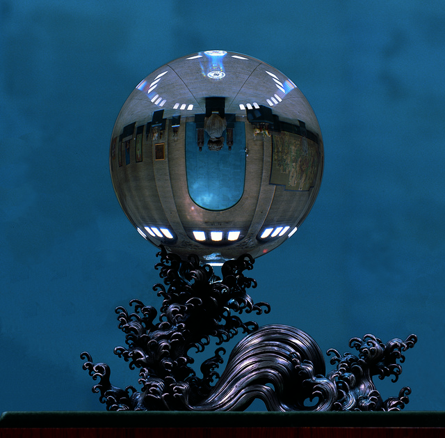 Unknown Artist, 'Crystal Ball', Qing Dynasty (CE 1644-1911), Penn Museum