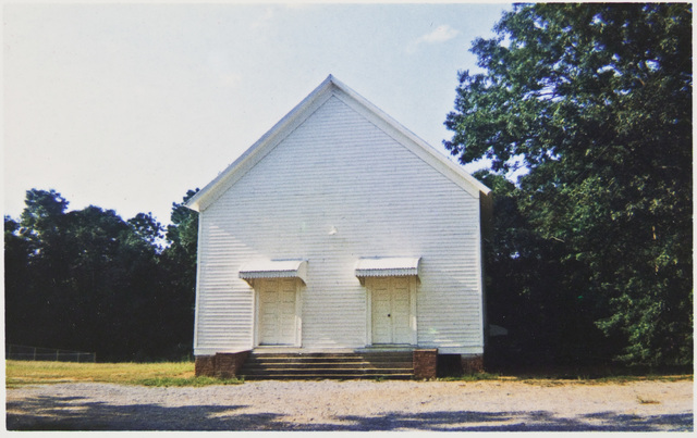 , 'Church Between Greensboro and Marion, Alabama,' 1973, David Lusk Gallery