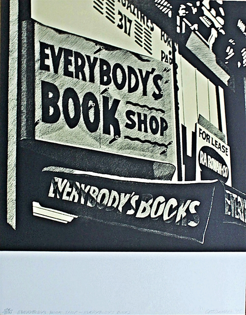 , 'Everybody's Bookshop, Everybody's Books,' 1975, Alpha 137 Gallery