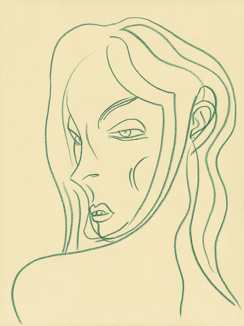 , 'Woman II, Study for The Ornamentalist and Apprentice,' 2009, Modern Art