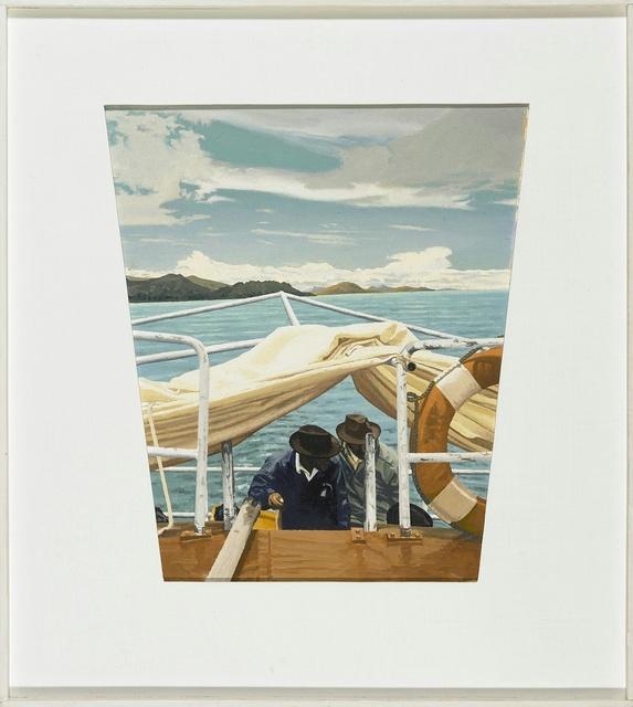 , 'island ferry, Lake Titicaca,' 2016, Miller Yezerski Gallery