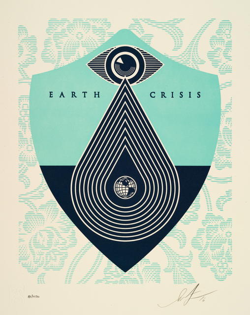 , '(Complete Set of 6) Earth Crisis ,' 2016, GCA Gallery
