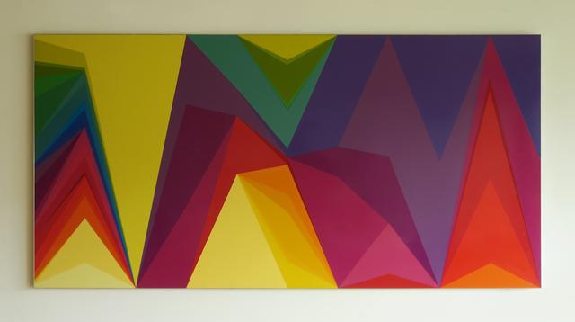 Willem Besselink, 'Mijn Afstanden augustus 2007', 2008, NL=US Art