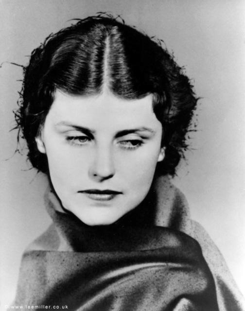 , 'Dorothy Hill [solarised portrait], Lee Miller Studios Inc., New York, USA,' 1933, Lee Miller Archives
