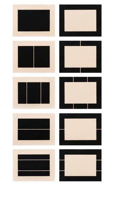 , 'Untitled (S. #177-186),' 1988, Brooke Alexander, Inc.
