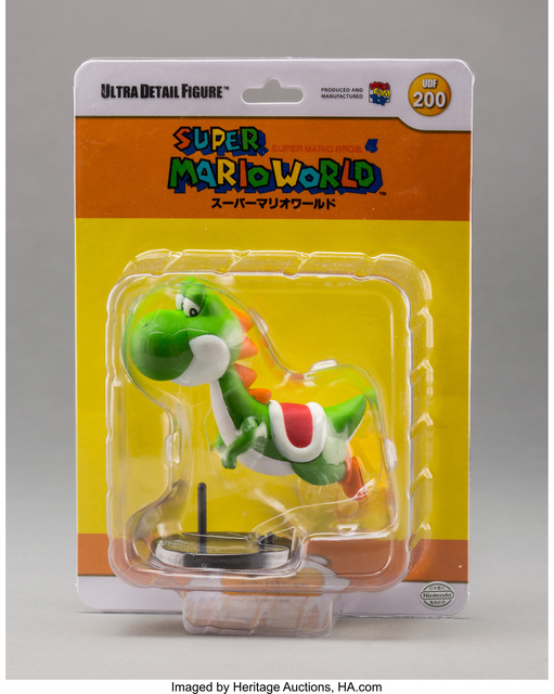 Nintendo, 'Yoshi, from Super Mario World (UDF #200)', 2013, Other, Painted cast vinyl, Heritage Auctions