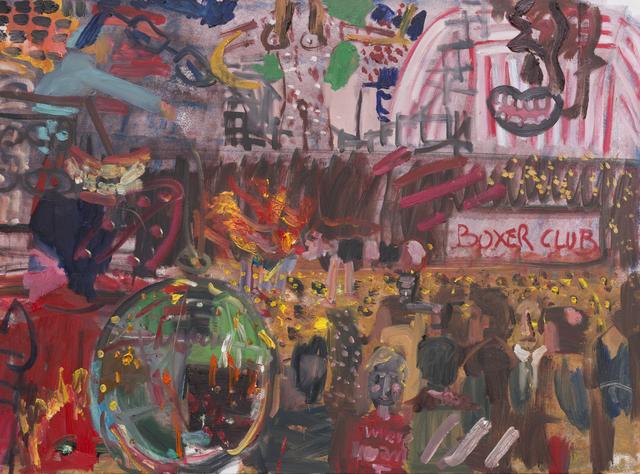 , 'Boxing Club,' 2017, Galería Arteconsult