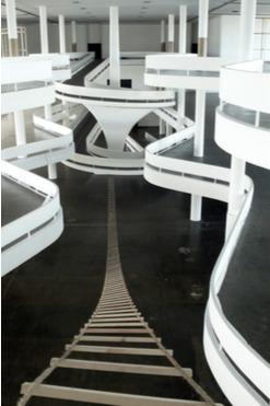 ", 'Residência - Escada Descida da série ""Residência"",' 2010, Luciana Brito Galeria"