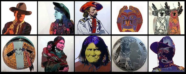 Andy Warhol, 'Cowboys and Indians', 1986, Print, Screenprint in colors, David Benrimon Fine Art