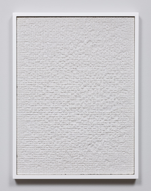 , 'Untitled (Etched Plaster),' 2014, Jason Haam