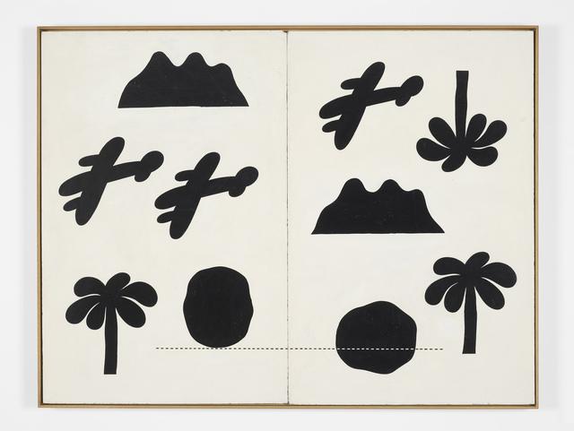 , 'Vietnam Diptych,' 1969, Kate MacGarry