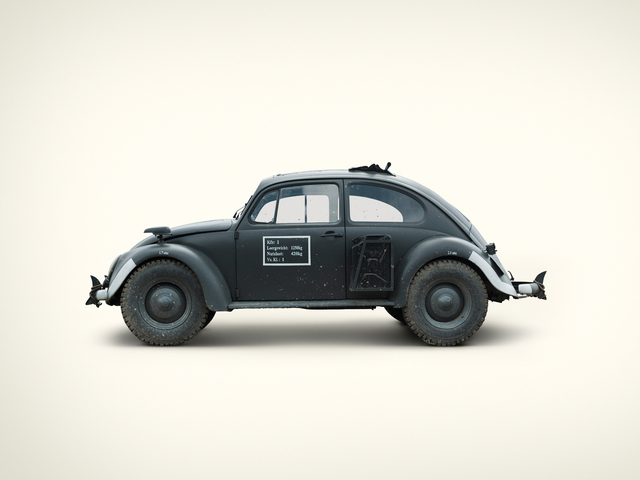, 'German KDF Wagen Staff Car,' 2009, KLOMPCHING GALLERY