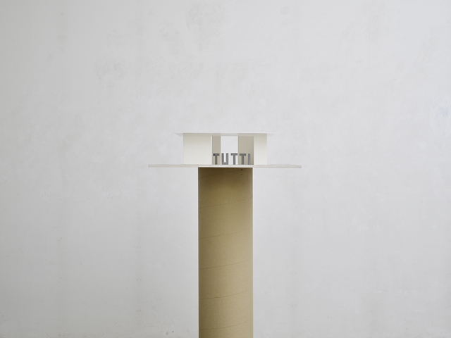 Markus Raetz, 'Persone in padiglione (IOTUNOITUTTI)', 1996-1999, Monica De Cardenas