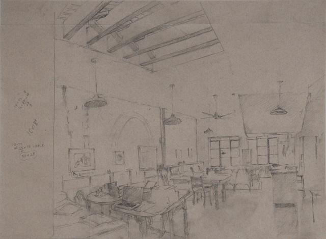 , 'Studio, Grey Morning,' 2014, Betty Cuningham