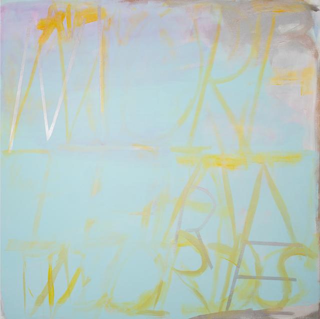 Dana Frankfort, 'MORE THAN WORDS', 2013, Inman Gallery