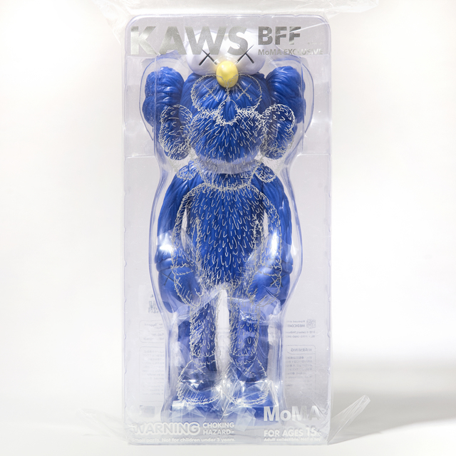 KAWS, 'Kaws BFF (Blue)', 2017, Sculpture, Vinyl collectable, Tate Ward Auctions