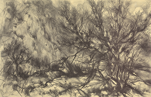 , 'Toned Brush Landscape,' (Date unknown), ArtWise