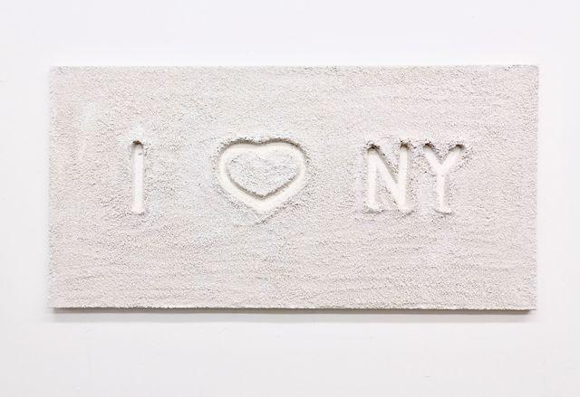 , 'I LOVE NY,' 2011, ABXY