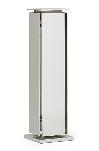 Claude de Muzac, 'Pedestal (prototype)', 1967, Rago/Wright