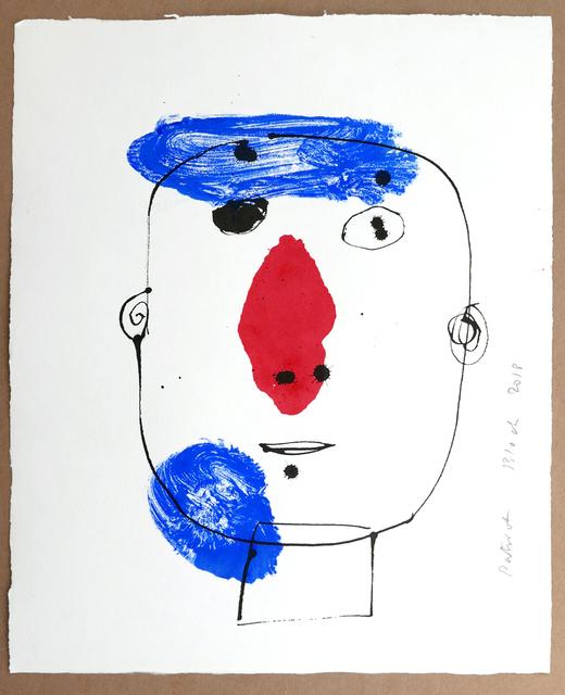 , 'Portrait ,' 2018, Michele Mariaud Gallery