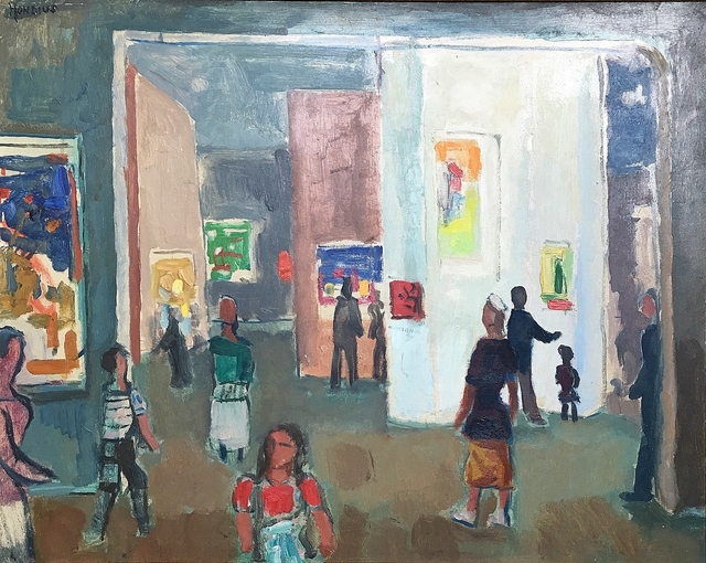 Gerrit Hondius, 'Modern Museum', ca. 1950, Lawrence Fine Art