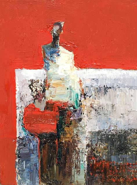 , 'Corner Booth,' 2018, Sue Greenwood Fine Art
