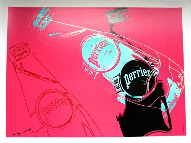 Andy Warhol, 'Perrier (Pink)', 1983, World of WonderMei