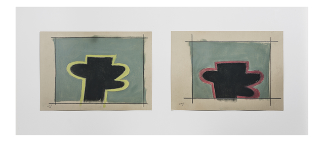 , 'Untitled (Diptych),' 1997, Cuadro Gallery
