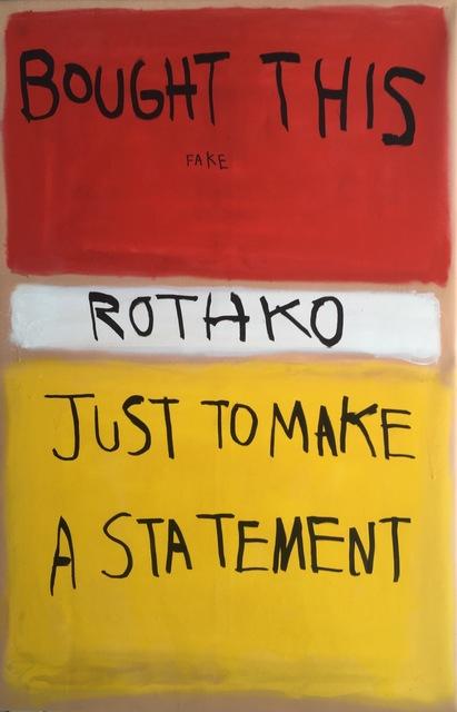 , 'Statement,' 2017, Imitate Modern