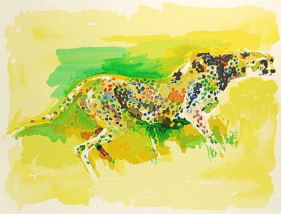 LeRoy Neiman, 'Cheetah', 1997, David Parker Gallery