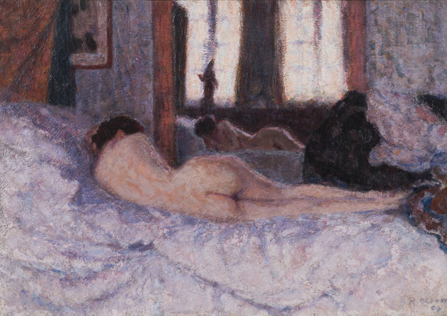 , 'Reclining Nude before a Mirror II,' 1909, Connaught Brown