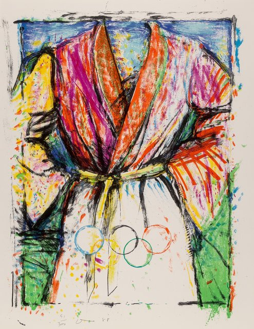 Jim Dine, 'Olympic Robe, from Official Arts Portfolio of the XXIVth Olympiad, Seoul, Korea', 1988, Heritage Auctions