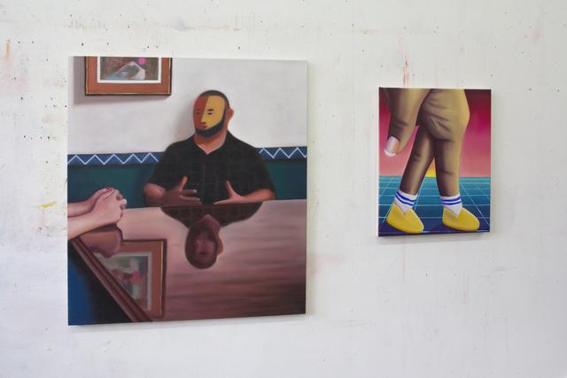 Sally Kindberg, 'The Navigator', 2020, Painting, Oil on canvas, Daniel Raphael