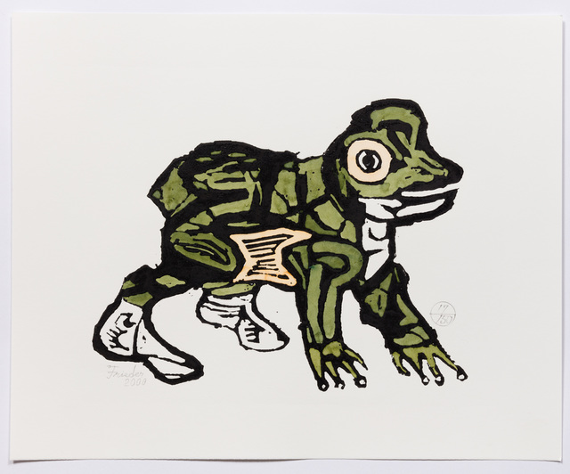 , 'Frog in High Tops (AF Print62) ,' 2000, The Good Luck Gallery